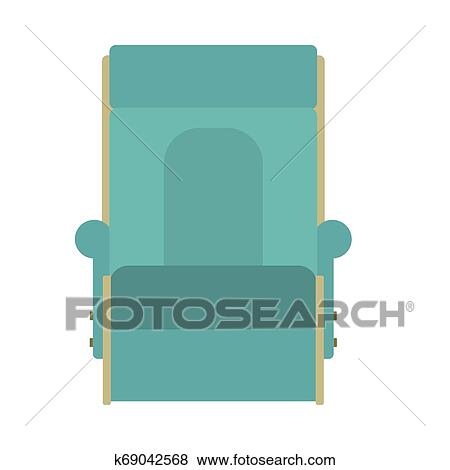 Fantastic Lounge Chair Vector Icon Furniture Design Relax Room Symbol Squirreltailoven Fun Painted Chair Ideas Images Squirreltailovenorg