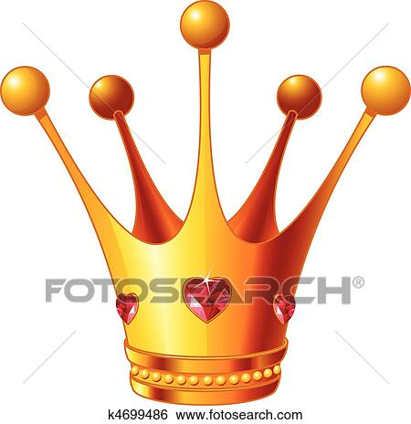 clip art of princess crown k4699486 search clipart illustration rh fotosearch com princess crown clipart images princess crown clipart free download