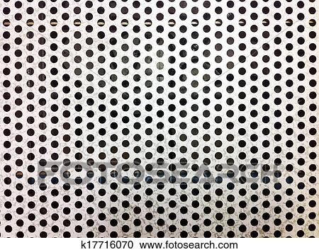 Perforated Airflow Panels This Is A Pattern Of Raised Floor Which You Can See In Data Center Or Server Room