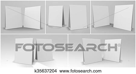 Stock Photo Of Table Tent D Render K Search Stock Images - Create table tents