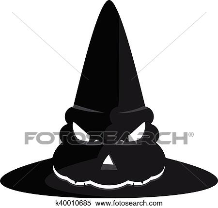Halloween Witch Hat Clipart K40010685 Fotosearch