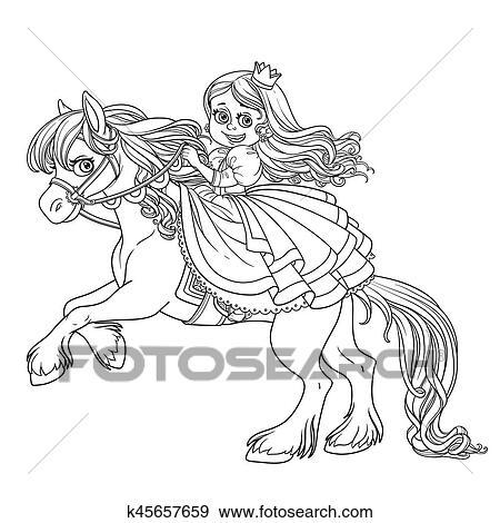 ausmalbilder pferde mit prinzessin : ausmalbilder pferde mit reiter : modell mandala mary