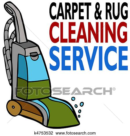 clipart of carpet cleaning service k4753532 search clip art rh fotosearch com