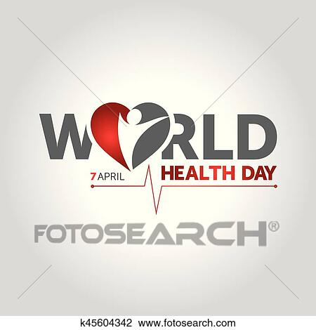 Clipart Of World Health Day K45604342