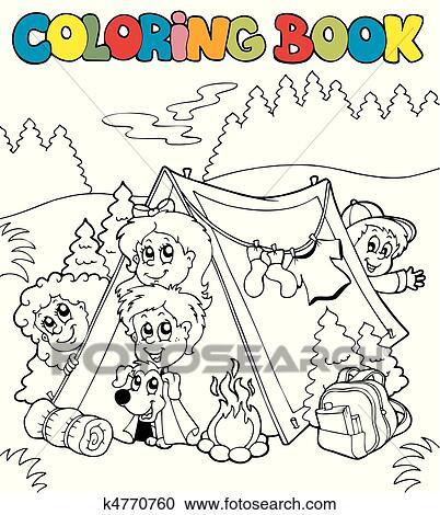 Charmant Disney Camping Malvorlagen Fotos - Ideen färben - blsbooks.com