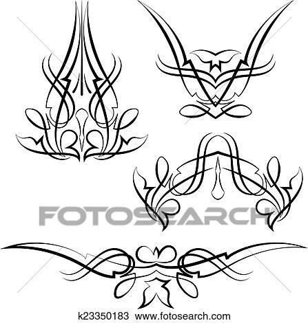 clipart of pinstripe graphics vinyl ready k23350183 search clip rh fotosearch com Pinstripe Background Pinstripe Clip Art Common