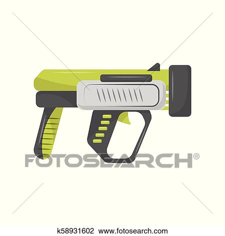 toy handgun child pistol vector illustration isolated on a white background clipart k58931602 fotosearch fotosearch