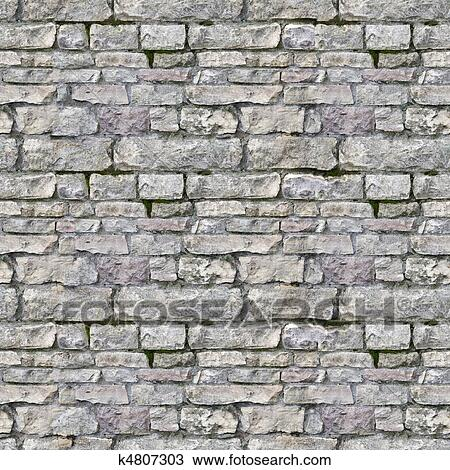 . Seamless high resolution brick texture Stock Image