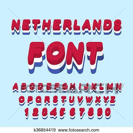 Clipart Nederland Font Nederlandse Vlag Onletters Nationale