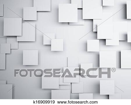 Banque D Illustrations Resume Forme Geometrique 3d K16909919