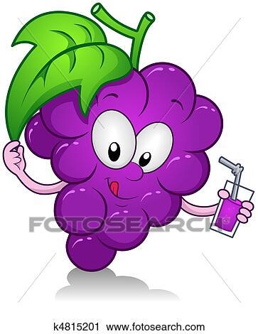 clipart uvas bebida k4815201 busca de ilustrações clip art