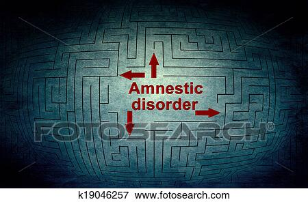 amnestic disorder A blow to the head can cause serious and persistent injuries to the brain cells can be damaged if the blow causes the brain to rattle about in the skull.