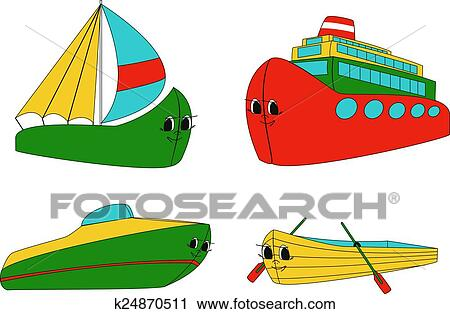 Clipart of Water transport k24870511 - Search Clip Art ...
