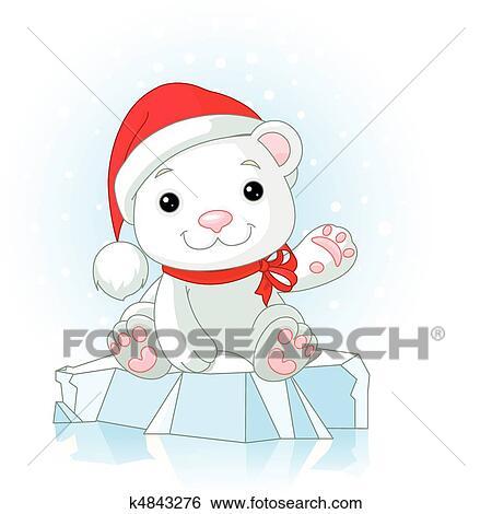 Clipart Noel Ours Blanc K4843276 Recherchez Des Cliparts Des