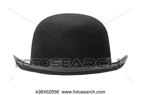cfde9487caa Stock Images of Black Bowler Hat k36452056 - Search Stock ...