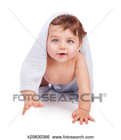 Stock Images Of Cute Little Baby Boy K29830366 Search Stock