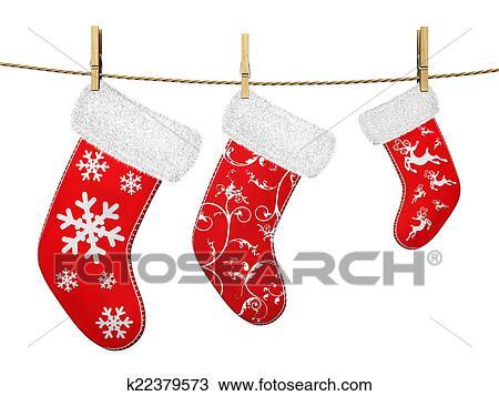 Drawings Of Christmas Stockings.Christmas Stockings Drawing