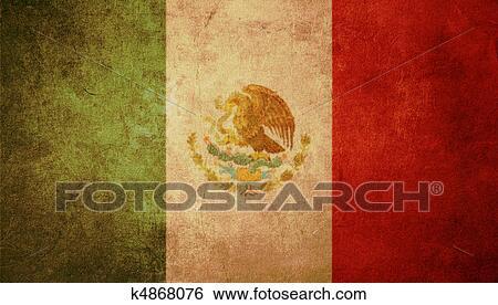 stock illustraties - mexico vlag k4868076 - zoek clipart, tekeningen