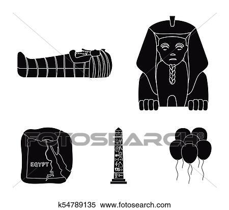 Ancient Egypt White Temple Column Or Stone Pillar Stock Vector -  Illustration of design, architecture: 154535147