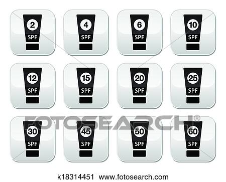 Protected skin with sunscreen lotion, UVB and UVA rays can not penetrate  Clipart | k25723005 | Fotosearch