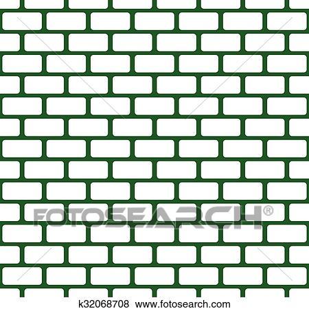 Clipart Mur Brique Mur Pierre Seamless Vecteur Modèle