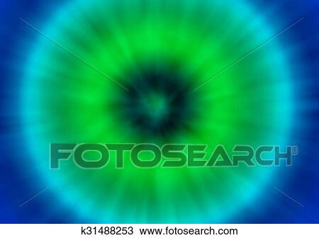 87a47c1d8 A green and blue colorful psychedelic tie dye background with a retro look