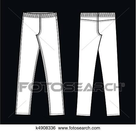 9c3250a88ba65 Clip art of leggings search clipart illustration posters jpg 450x433 Clipart  pocket leggings