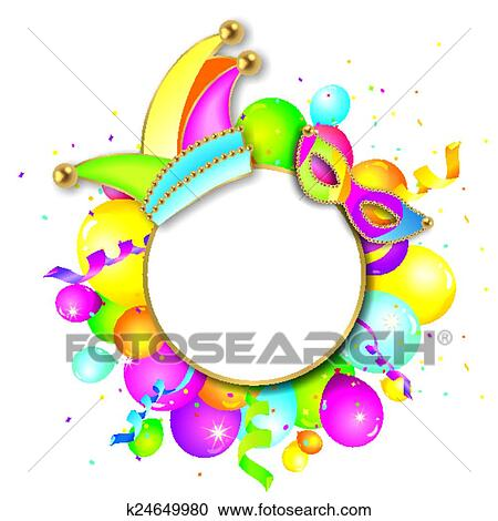clipart of colorful carnival background k24649980 search clip art