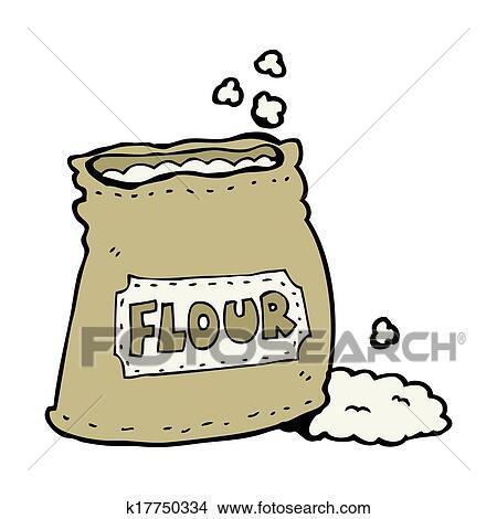 Dessins dessin anim sac farine k17750334 recherche de clip arts d 39 illustrations et d - Coloriage farine ...