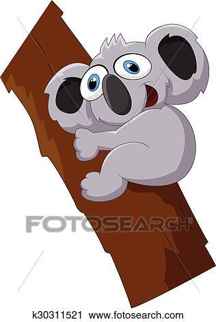 Foto koala cartoon immagini e vettoriali