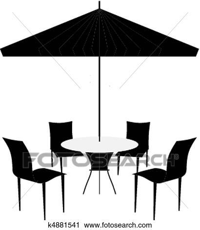 outdoor furniture clip art - Clip Art Library