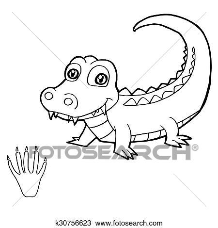 Ungewöhnlich Krokodil Färbung Seite Galerie - Dokumentationsvorlage ...
