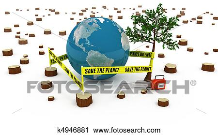 Clipart   Save The Planet Concept . Fotosearch   Search Clip Art,  Illustration Murals,