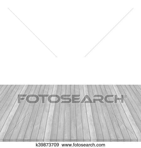Stock Ilration Wooden Floor Texture Background On White Pink Pastel Colour Perspective