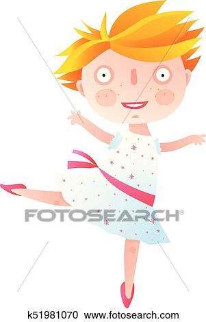 kids ballet clipart