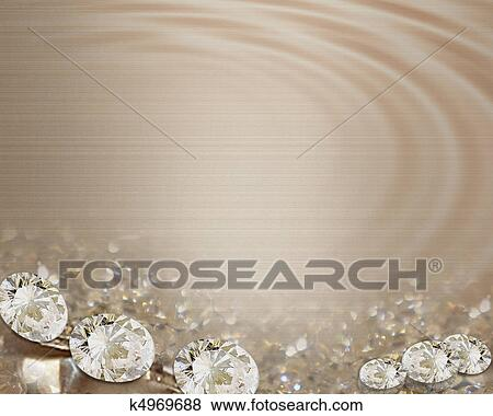 Auguri Matrimonio Formali : Invito matrimonio diamanti raso archivio illustrazioni
