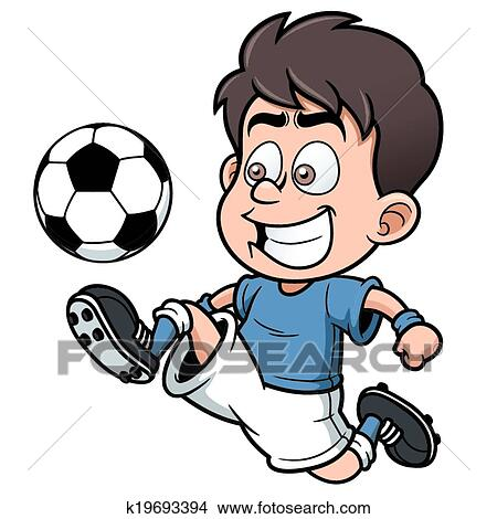 Soccer Player Clipart K19693394 Fotosearch