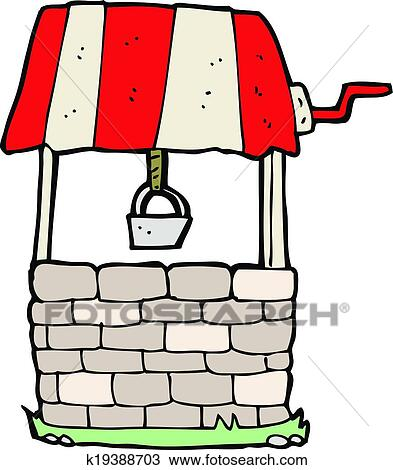 clipart of cartoon wishing well k19388703 search clip art rh fotosearch com get well clip art pictures get well clipart animated