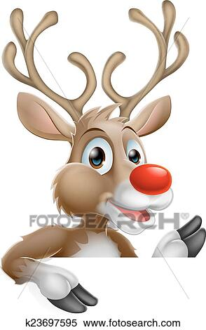Bilder Rentiere Weihnachten.Weihnachten Karikatur Rentier Clipart