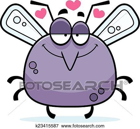 Poco zanzara amore clip art k fotosearch