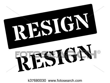 Resign Stock Illustrations, Cliparts And Royalty Free Resign Vectors