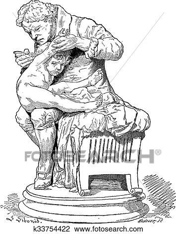 Edward Jenner Vintage Engraving Clipart K33754422