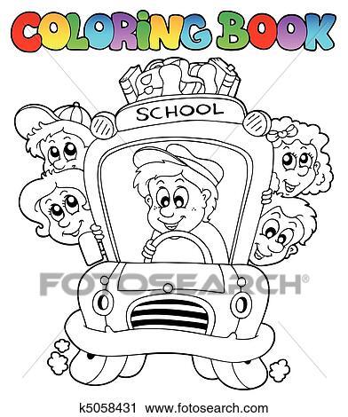Clipart Ausmalbilder Mit Schule Bilder 3 K5058431 Suche Clip