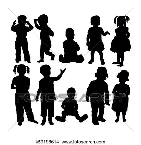 Free Children Silhouette Clipart, Download Free Clip Art, Free Clip Art on  Clipart Library