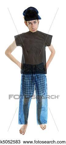 Teen see through underwear
