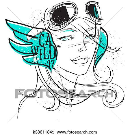 1,390 Woman Pilot Illustrations, Royalty-Free Vector Graphics & Clip Art -  iStock