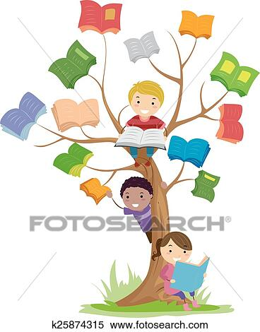 Child reading children reading book clipart - WikiClipArt