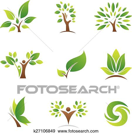 clip art of tree of life logos and icons k27106849 search clipart