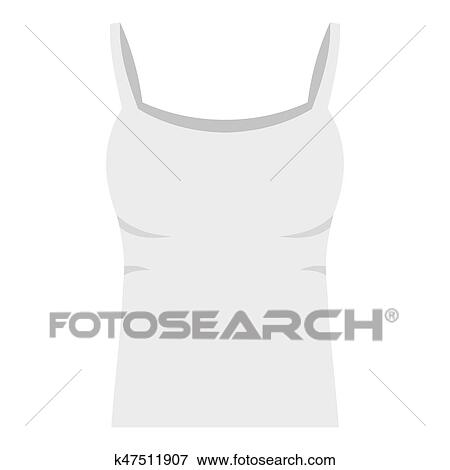 white woman tank top icon isolated stock illustration k47511907 fotosearch fotosearch