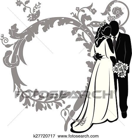 Invitation Mariage Clipart K27720717 Fotosearch